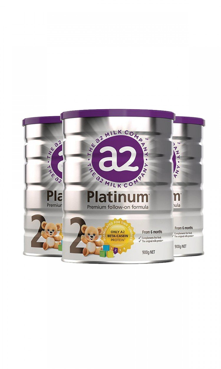 【A2】A2金装奶粉2段3罐(澳洲直邮)保质期:09/2022