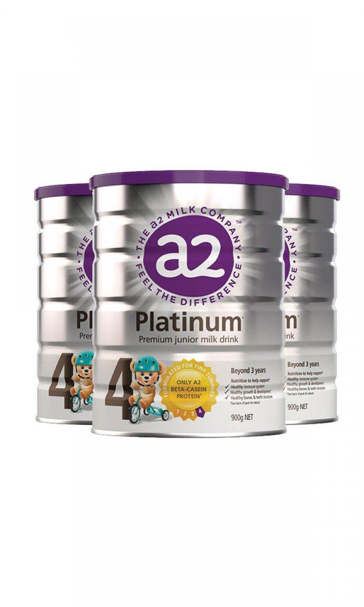 【A2】A4金装奶粉4段3罐(澳洲直邮)保质期:02/2023